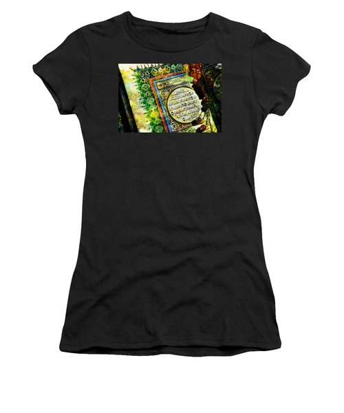A Page From Quran Women's T-Shirt (Junior Cut) by Catf