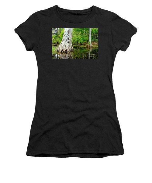 Backcountry Women's T-Shirt (Junior Cut) by Carey Chen