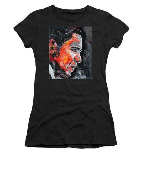 Barack Obama Women's T-Shirt (Junior Cut) by Richard Day