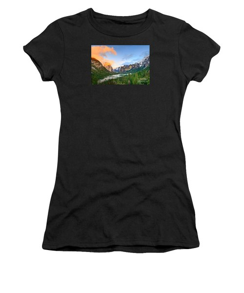 Colors Of Yosemite Women's T-Shirt (Junior Cut) by Jamie Pham
