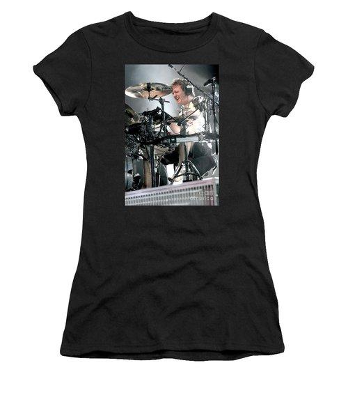 Def Leppard Women's T-Shirt (Junior Cut) by Concert Photos