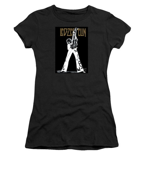 Led Zeppelin No.06 Women's T-Shirt (Junior Cut) by Caio Caldas