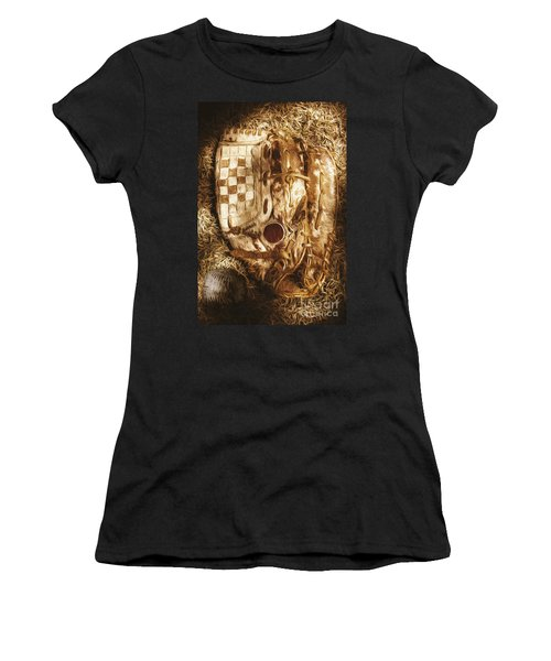 Mitts And Squiggles  Women's T-Shirt (Junior Cut) by Jorgo Photography - Wall Art Gallery