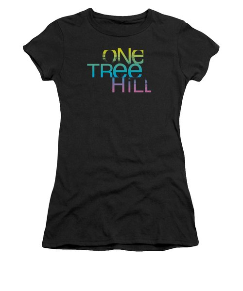 One Tree Hill - Color Blend Logo Women's T-Shirt (Junior Cut) by Brand A