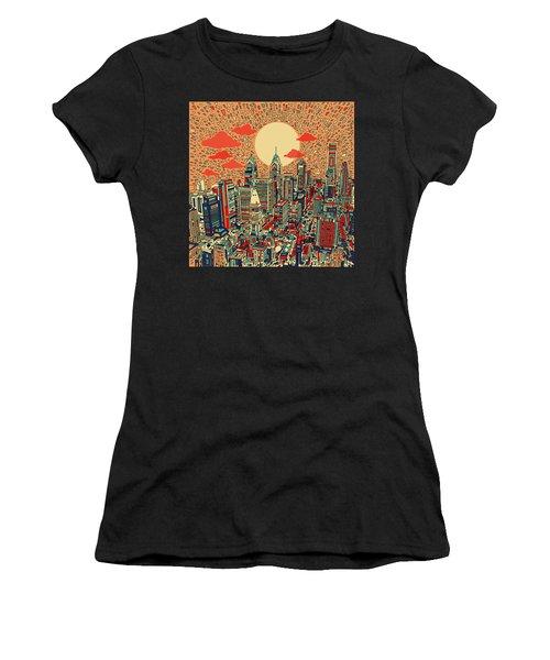 Philadelphia Dream Women's T-Shirt (Junior Cut) by Bekim Art