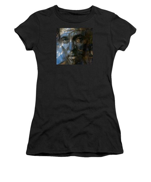 Shackled And Drawn Women's T-Shirt (Junior Cut) by Paul Lovering