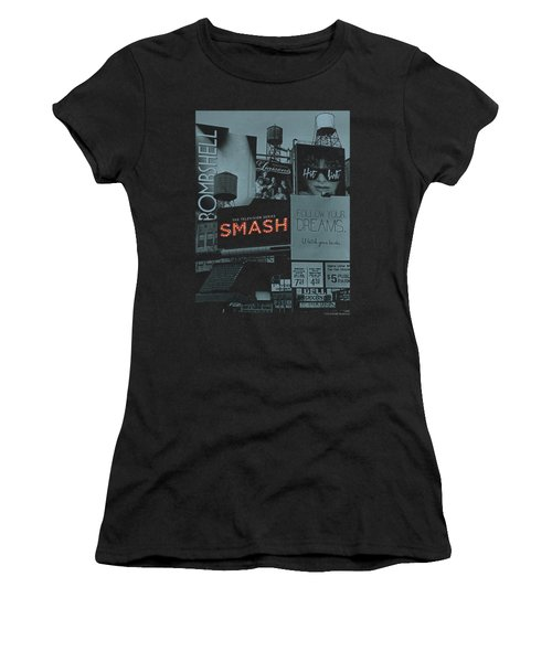 Smash - Billboards Women's T-Shirt (Junior Cut) by Brand A