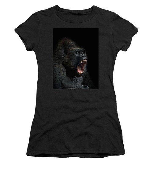Stay Away Women's T-Shirt (Junior Cut) by Joachim G Pinkawa