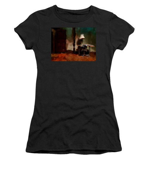 Table Lamp Chair Women's T-Shirt (Junior Cut) by H James Hoff