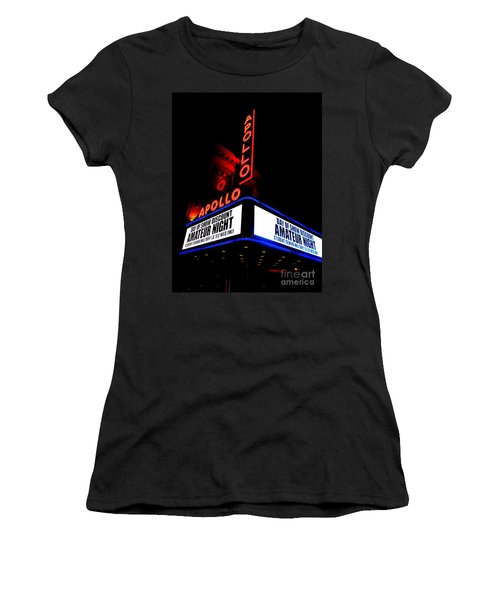 The Apollo Theater Women's T-Shirt (Junior Cut) by Ed Weidman