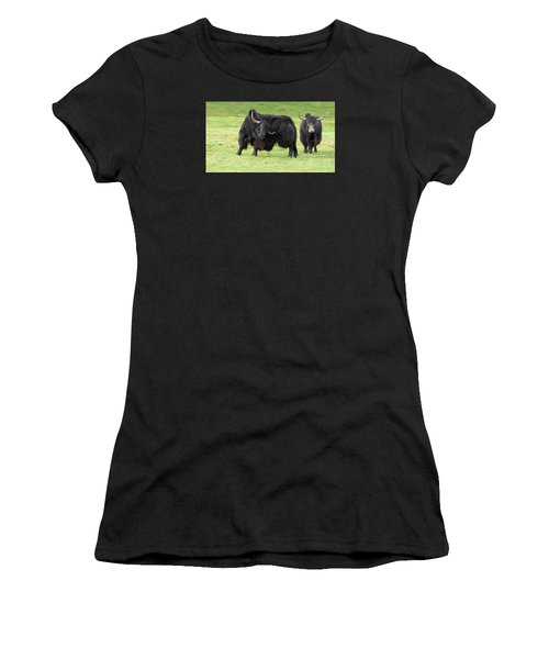 Yaketty Yak Women's T-Shirt (Junior Cut) by Liz Leyden