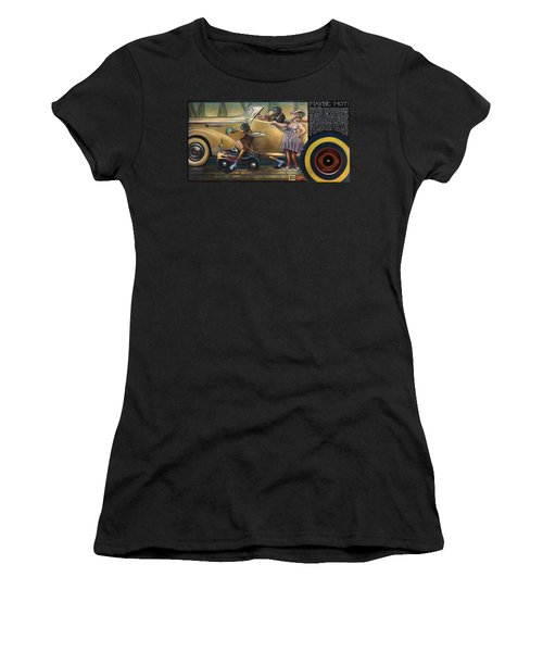 Maybe Maybe Not Women's T-Shirt (Junior Cut) by Patrick Anthony Pierson