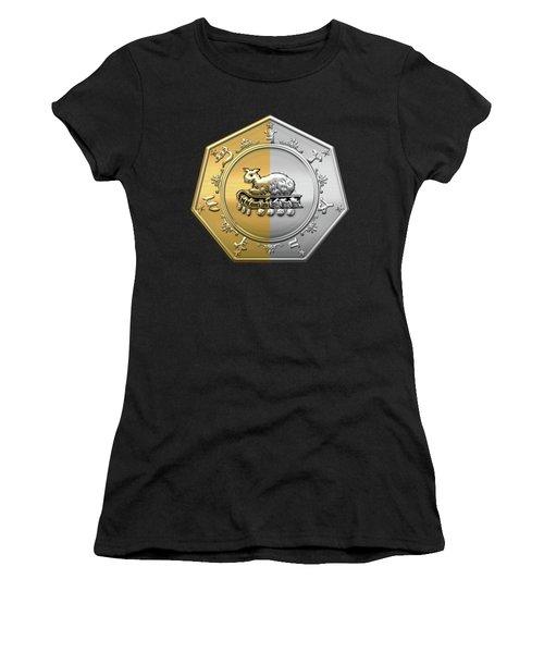 17th Degree Mason - Knight Of The East And West Masonic Jewel  Women's T-Shirt (Junior Cut) by Serge Averbukh
