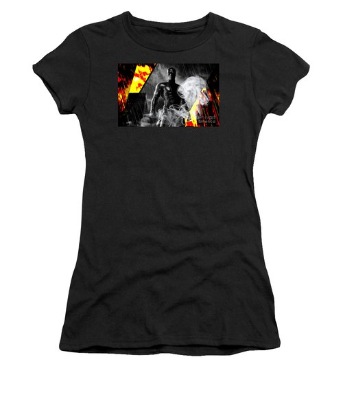 Daredevil Collection Women's T-Shirt (Junior Cut) by Marvin Blaine