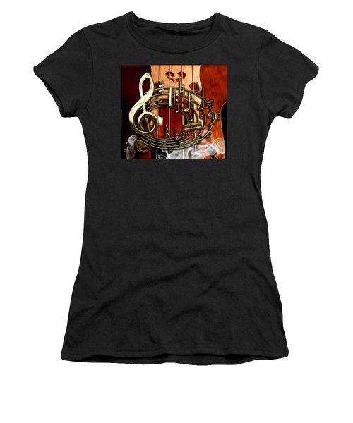 Musical Collection Women's T-Shirt (Junior Cut) by Marvin Blaine