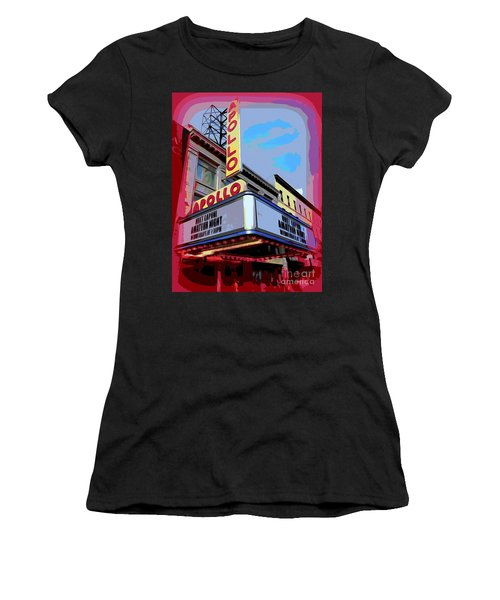 Amateur Night At The Apollo Women's T-Shirt (Junior Cut) by Ed Weidman