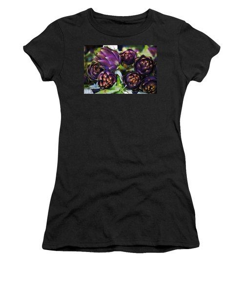 Artichokes  Women's T-Shirt (Junior Cut) by Joana Kruse