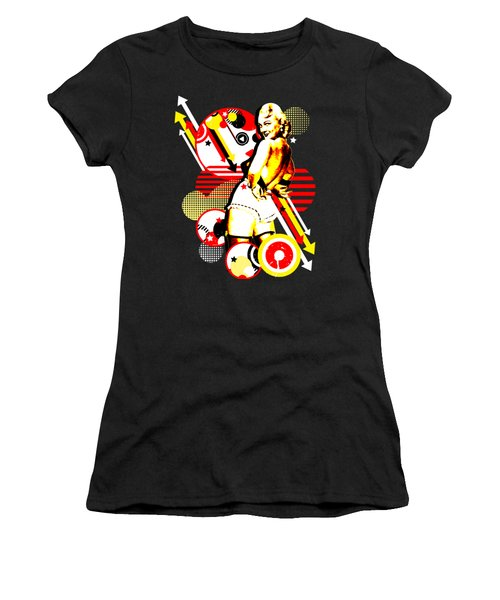Striptease Women's T-Shirt (Junior Cut) by Chris Andruskiewicz