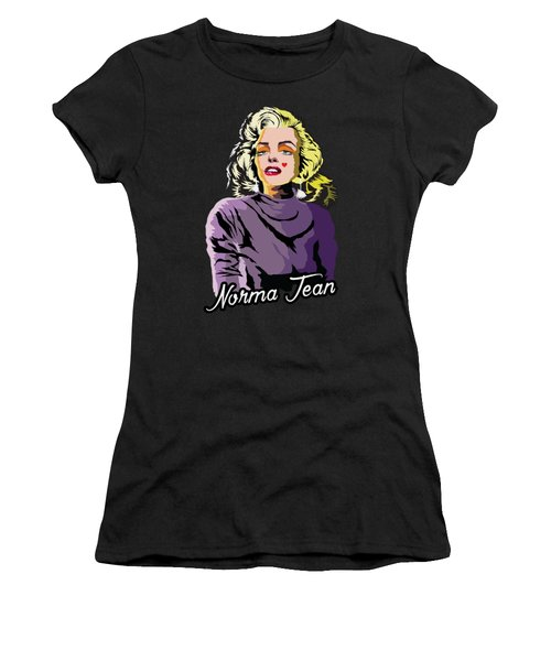 The Timeless Norma Jean Women's T-Shirt (Junior Cut) by Anthony Mwangi