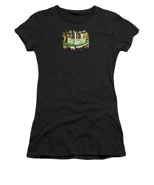 Beaver The Old Fishing Boat Women's T-Shirt (Junior Cut) by Thom Zehrfeld