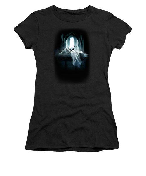 Demon Women's T-Shirt (Junior Cut) by Joe Roberts