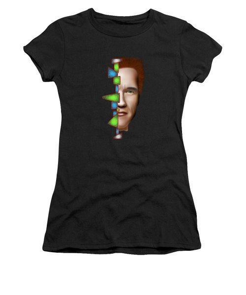 Gerschwanor V1 - Schwarzenegger Women's T-Shirt (Junior Cut) by Cersatti