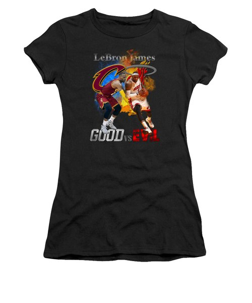 Goodevil Women's T-Shirt (Junior Cut) by Augen Baratbate