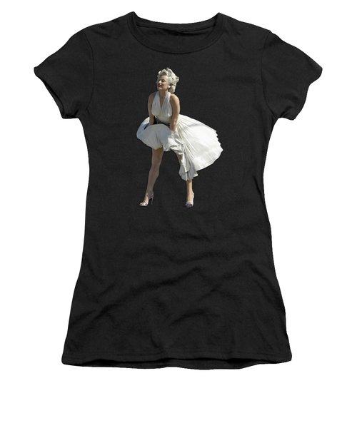 Key West Marilyn - Special Edition Women's T-Shirt (Junior Cut) by Bob Slitzan