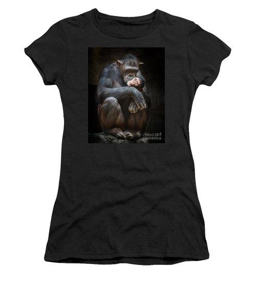 Kiss From Mom Women's T-Shirt (Junior Cut) by Jamie Pham