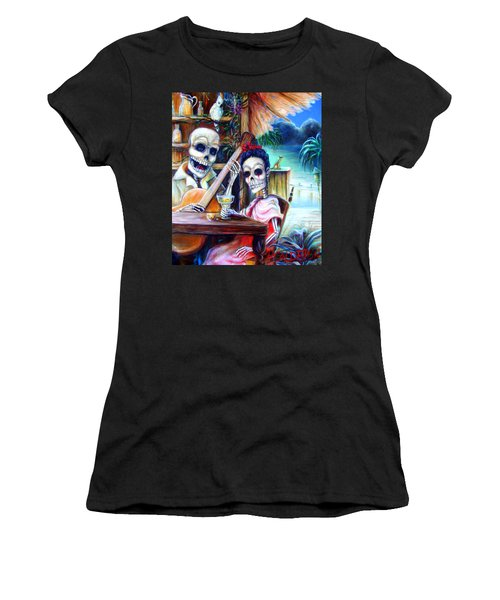 La Borracha Women's T-Shirt (Junior Cut) by Heather Calderon