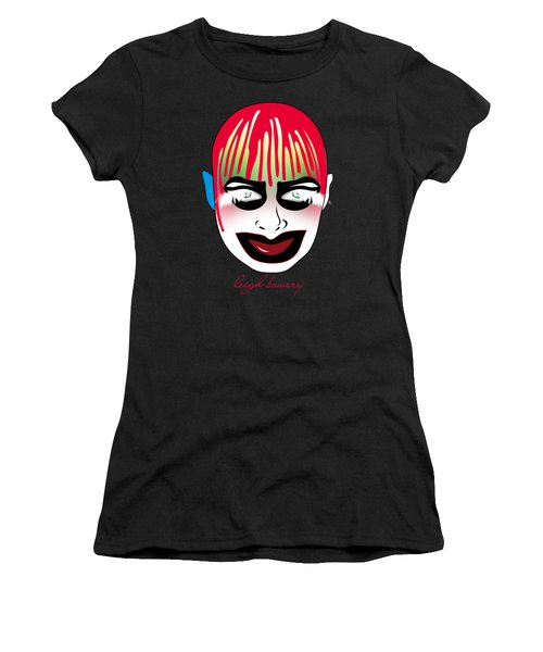 Leigh Bowery Women's T-Shirt (Junior Cut) by Mark Ashkenazi