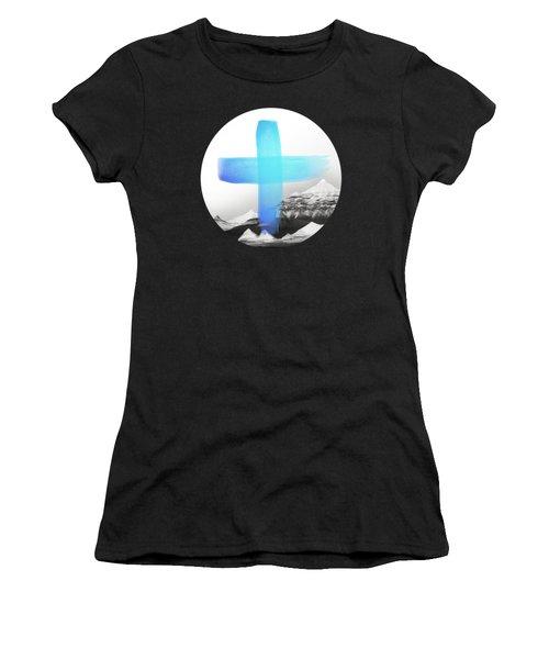 Mountains Women's T-Shirt (Junior Cut) by Amy Hamilton
