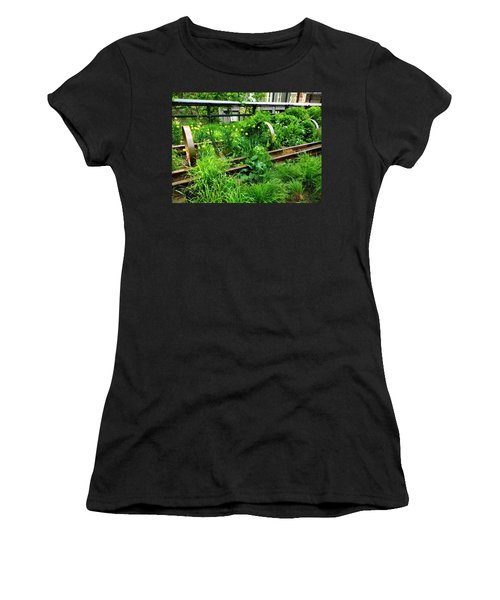 Nyc High Line Women's T-Shirt (Junior Cut) by Sandy Taylor