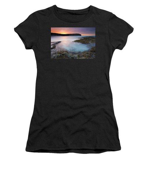 Pennington Dawn Women's T-Shirt (Junior Cut) by Mike  Dawson