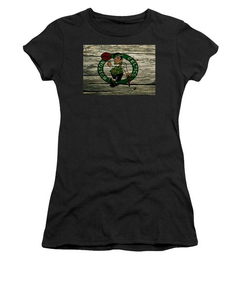 The Boston Celtics 2w Women's T-Shirt (Junior Cut) by Brian Reaves
