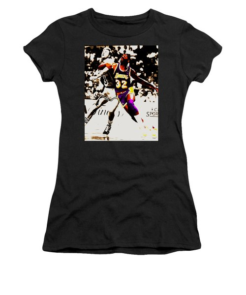 The Rebound Women's T-Shirt (Junior Cut) by Brian Reaves