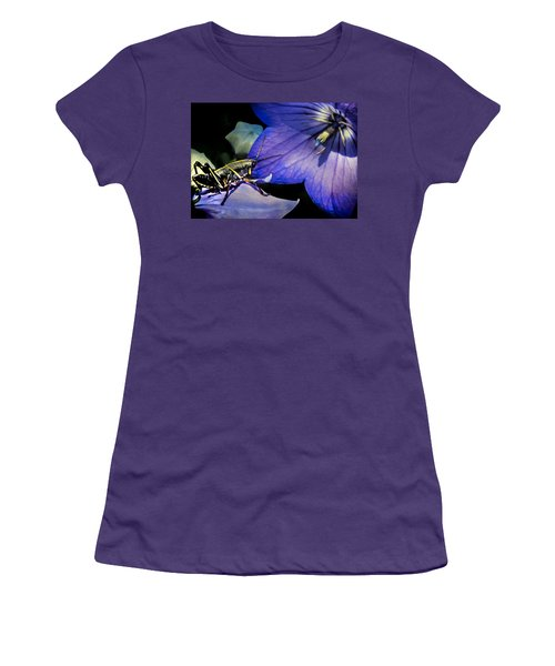 Contemplation Of A Pistil Women's T-Shirt (Junior Cut) by Karen Wiles