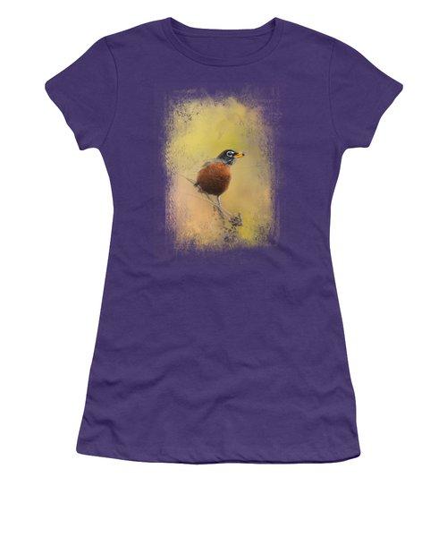 Berries In The Woods Women's T-Shirt (Junior Cut) by Jai Johnson