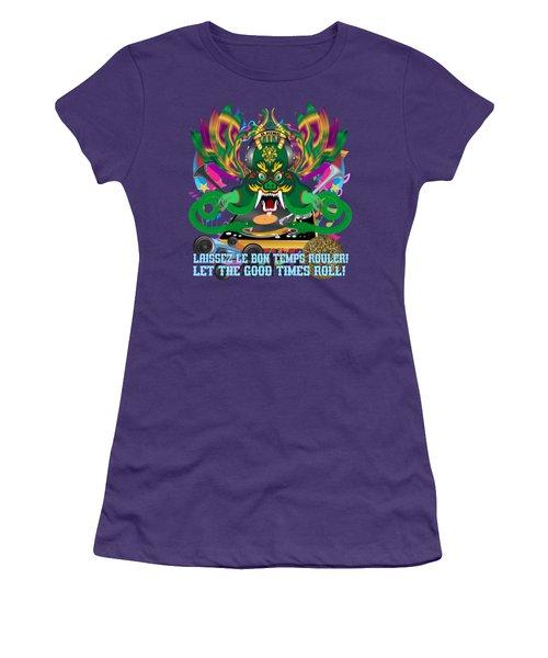Dj Dragon6 King All Products Women's T-Shirt (Junior Cut) by Bill Campitelle