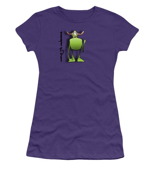 Tollak Women's T-Shirt (Junior Cut) by Uncle J's Monsters