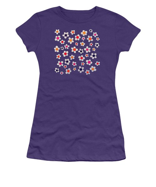 Woodflock Remix Women's T-Shirt (Junior Cut) by Oliver Johnston