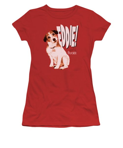 Frasier - Eddie Women's T-Shirt (Junior Cut) by Brand A