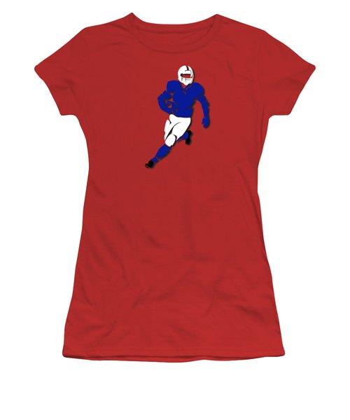 Bills Player Shirt Women's T-Shirt (Junior Cut) by Joe Hamilton