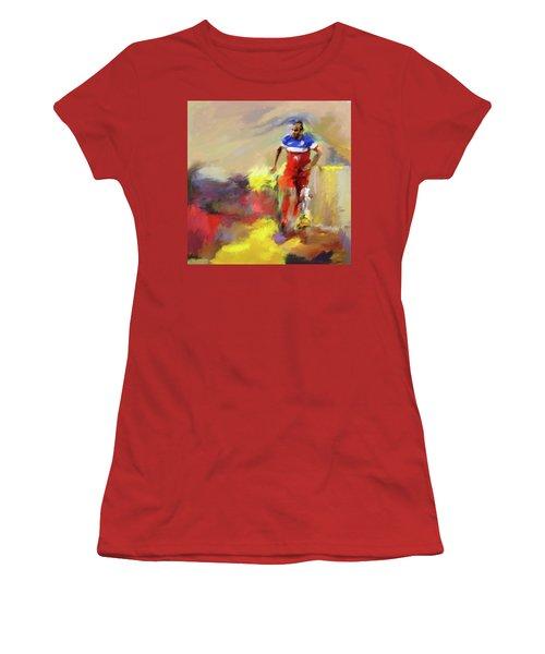 Landon Donovan 545 1 Women's T-Shirt (Junior Cut) by Mawra Tahreem