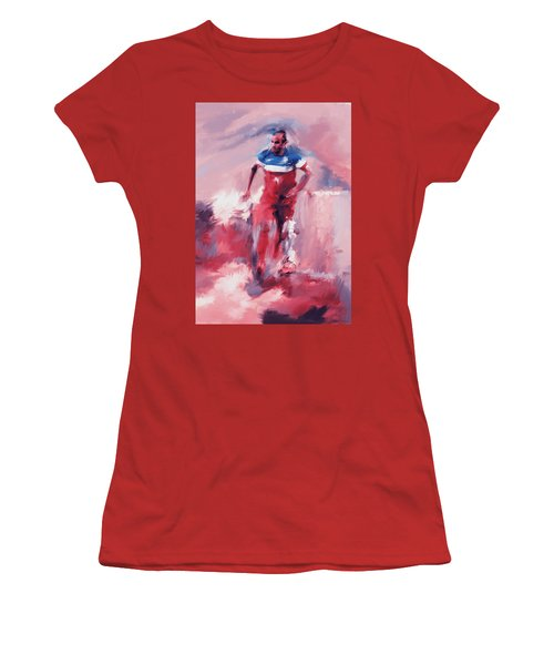 Landon Donovan 545 2 Women's T-Shirt (Junior Cut) by Mawra Tahreem