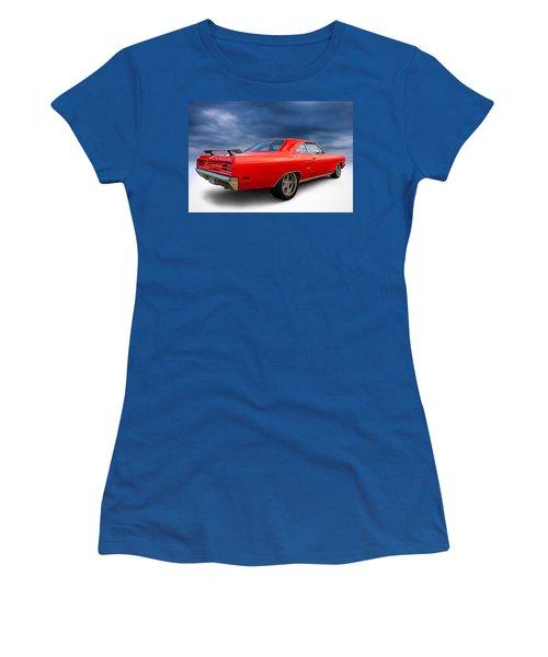 '70 Roadrunner Women's T-Shirt (Junior Cut) by Douglas Pittman