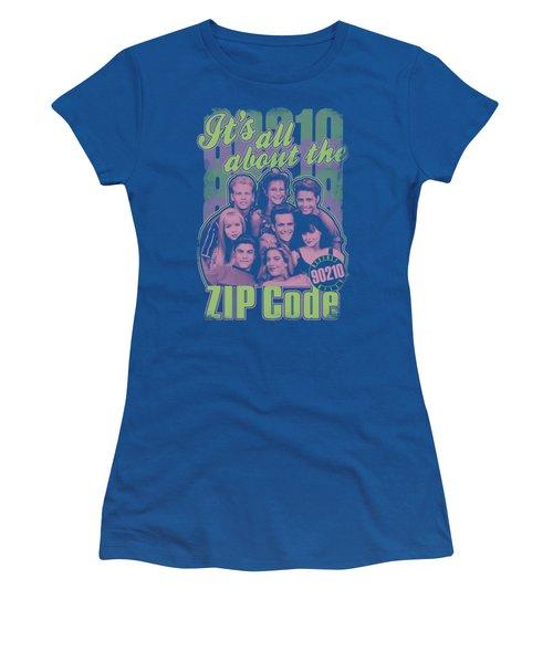 90210 - Zip Code Women's T-Shirt (Junior Cut) by Brand A
