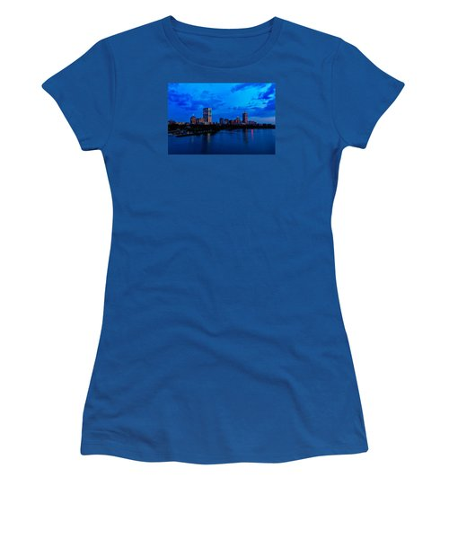 Boston Evening Women's T-Shirt (Junior Cut) by Rick Berk