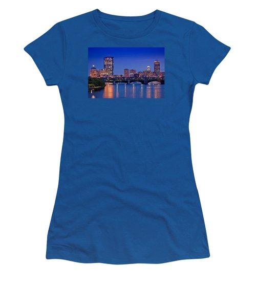 Boston Nights 2 Women's T-Shirt (Junior Cut) by Joann Vitali