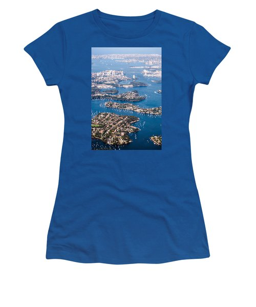 Sydney Vibes Women's T-Shirt (Junior Cut) by Parker Cunningham